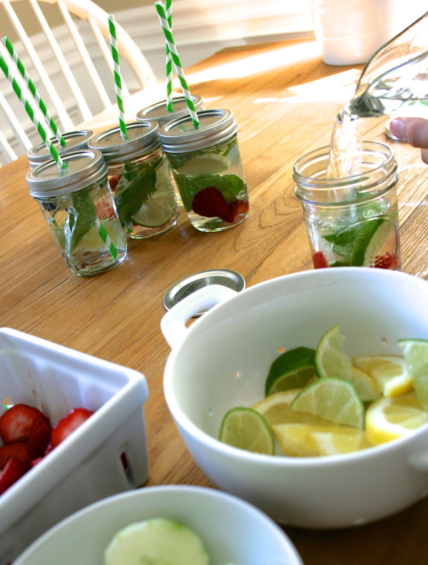 Playful Learning: DIY Infused Water Station