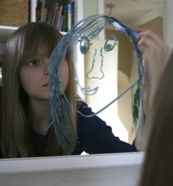 Mirrored Self-Portraits with The Artful Parent