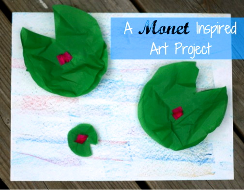 Playful Learning: Monet Inspired Art Project