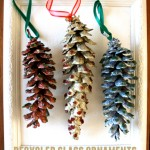 Recycled Glass Ornaments