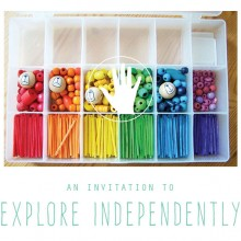 An Invitation to Independently Explore