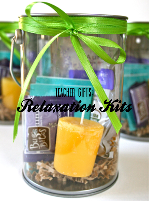 Teacher Gifts: Relaxation Kits