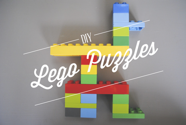 DIY Lego Puzzles