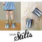 DIY Tin-Can Stilts
