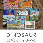 Dinosaur Books and Apps for Little Ones