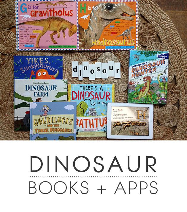 Dinosaur Books + Apps