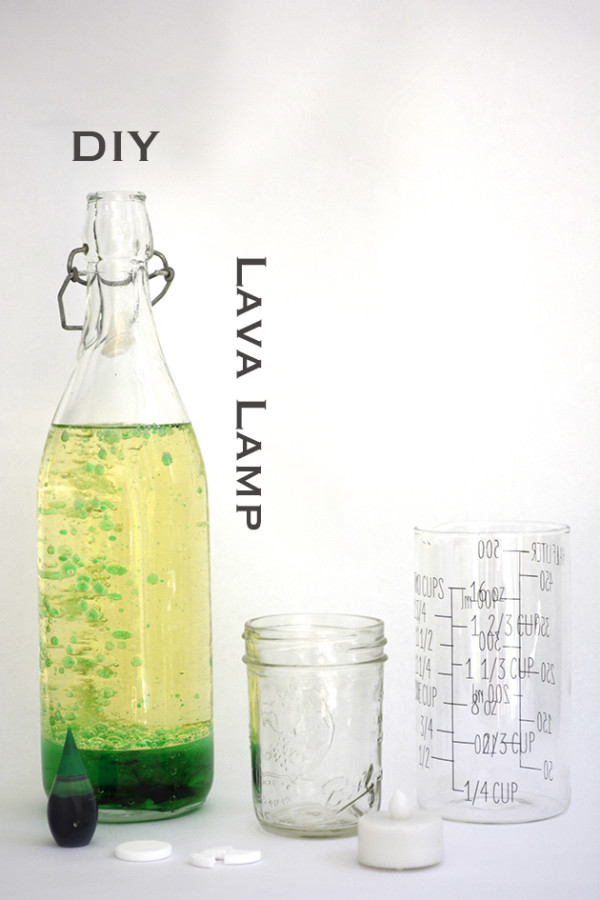 Tinkering with TinkerLab: DIY Lava Lamp