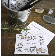 Invitation to Be Thankful: Mini Thank You Notes (+printables)