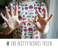 Making Math Fun: The Nifty Nines Trick