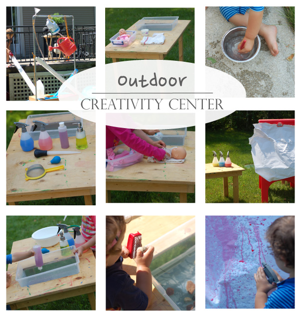 Playful Learning: Outdoor Creativity Center