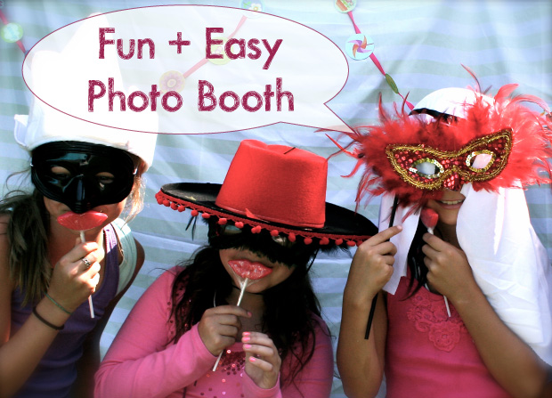 Easy + Fun DIY Photo Booth