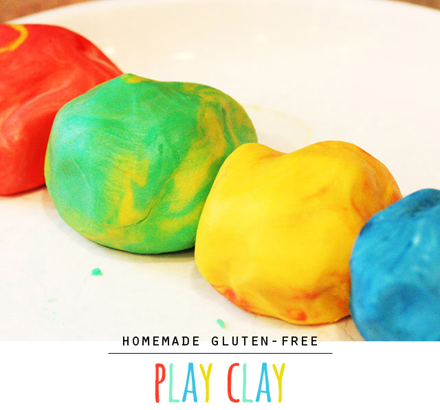 Homemade Gluten-free Play Clay