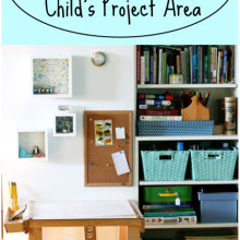 Creating Playful Spaces: Setting Up a Child's Project Area