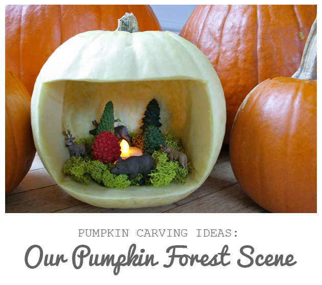 Our Pumpkin Forest Scene