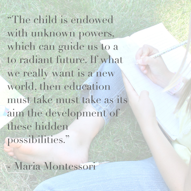 The potential of children…