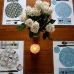 Learning to Set the Table: Homemade Placemats