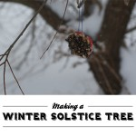 Making a Winter Solstice Tree