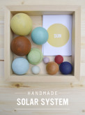 Handmade Solar System in a Box