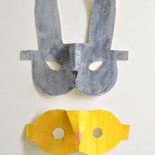 Crafts For Kids: DIY Springtime Masks
