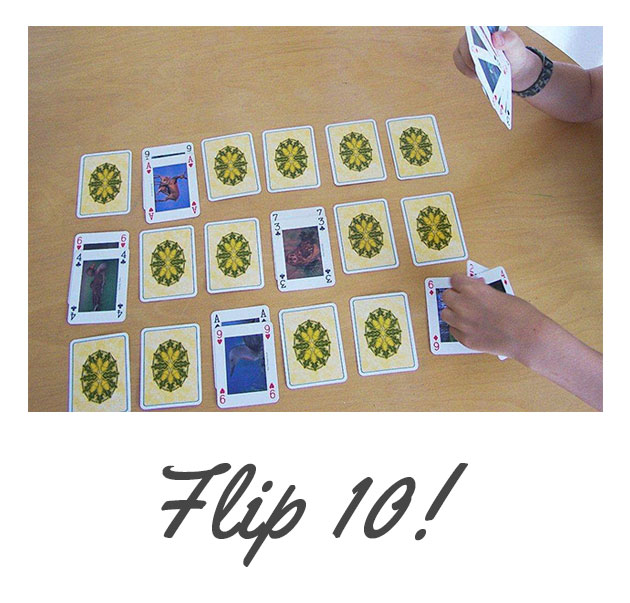 Flip 10! A fun math game...